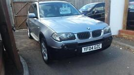 2004 BMW X3 4x4 estate VERY GOOD CONDITION for year full leather fsh 97K