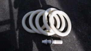 5 Sections of Pool Hose for Pool Vacuum Cleaner Hayward