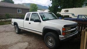 1998 Chev Silverado K2500 6.5 TD