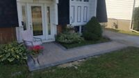 FREE used paving stone for up to 500sq.
