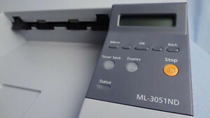 Samsung ML-3051ND Laser Printer with Double Sided Printing