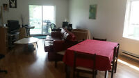 Grand 5 1/2, lave-vaiselle gratuit + balcon + 3 parking