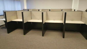 Telemarketing Cubicles - Call Centre Cubicles - Drop in Desks
