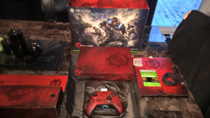 XBOX ONE S 2 TB LIMITED GEARS OF WAR 4 ED LECTEUR BLU RAY 4K