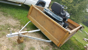 Utility trailer   5.5 by 6.9 foot box