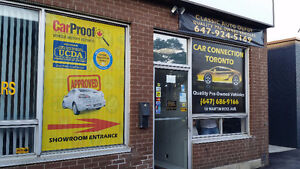 Window See Through Perforated Sign Graphic Print Car Van Store