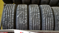 Used Michelin LTX MS-2 set of tires 265/75R16