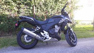 Honda CB500X 2013 noir impeccable