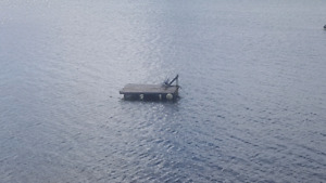 Free floating dock