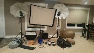 Closed Photography Studio - Equipment for sale!