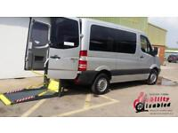 2010 Mercedes Sprinter SWB Diesel Automatic Disabled Drive From & Up Front Passe