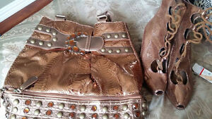 purse and boot