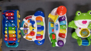 Musical baby toy lot