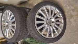 Mercedes Benz C300 Snow Tires & Rims