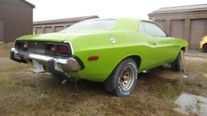73 challenger project green interior SOLD PENDING PAYMENT