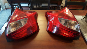 2012 to 2014 Ford Focus hatchback taillights