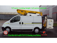 2007 Vauxhall Vivaro fitted with Versalift ET26 NE XS Roatating Access Platform