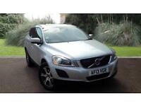 Volvo XC60 2.4D D5 AWD Nav SE Lux Automatic 5 Door Crossover Silver 2013