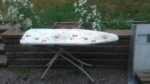 Standard height ironing board
