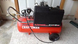 15 Gal Air Compressor