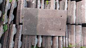 Redland Brown Plain Roof Peg Tiles