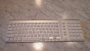 APPLE BLUETOOTH KEYBOARD With Number Pad Add on