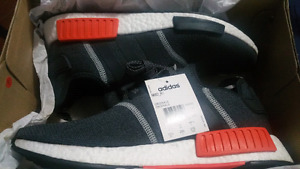 Ds nmd orange/ grey ds size 10.5