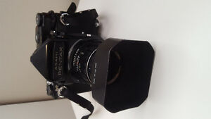 Pentax 6x7 w/105mm f/2.4 lens and accessories