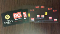 Food+Coffee coupons ($150 worth) selling it for $50