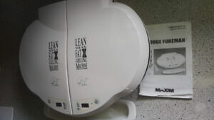 George Foreman Double Grilling Machine - Model No. GR44VTCAN wit