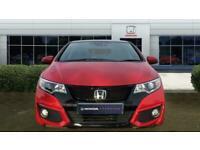 2016 Honda Civic 1.8 i-VTEC SR 5dr Auto Petrol Hatchback Hatchback Petrol Automa