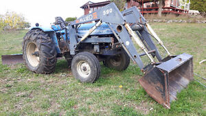 Leyland Tractor with attachments Peterborough Peterborough Area image 2