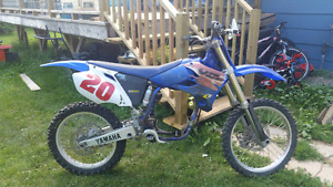 2002 Yz250f Part Out