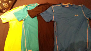 Under Armour Gym Shirts-Nearly Unused