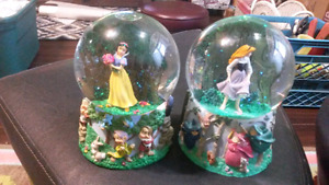 Disney collector globes