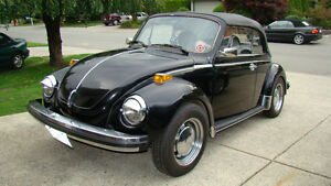 79 VW CONVERTIBLE - REDUCED