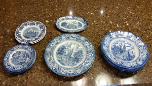 Liberty Blue China For Sale