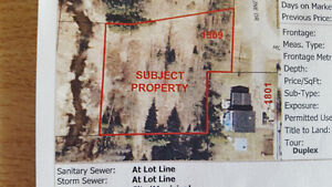 REDUCED  Duplex lot - fishing in your back yard in Prince George