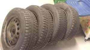 195/65/15 Toyo winter tires in very good shape