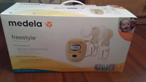 Madela freestyle double breastpump