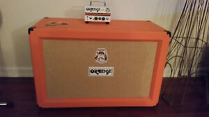 212 orange cab with micro terror head