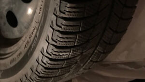 MICHELIN X-ICE Winter tires 235/45R18 on rims for sale