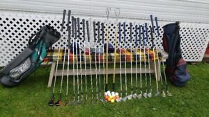 Mens and Ladies golf clubs