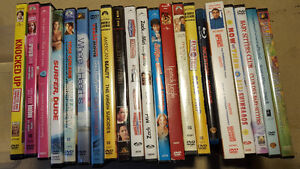 28 DVDs + Blue Rays