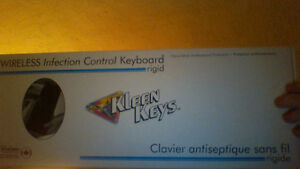 KLEEN KEYS WIRELESS KEYBOARD AND MOUSE