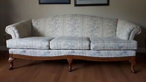 Excellent condition french colonial style sofa and love seat