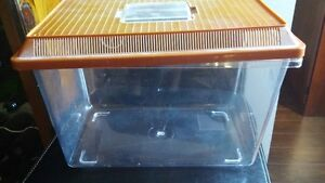 SMALL PLASTIC AQUARIUM   TANK FOR CRAB OR OTHER SMALL PET