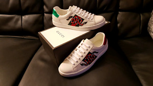 GUCCI ACE SNEAKER SNAKE SIZE 9 BRAND NEW LOUIS VUITTON HERMES LV