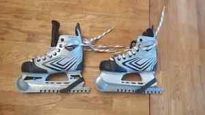 Skates used once $25 size 1