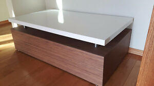 Brand new modern coffee table and TV stand